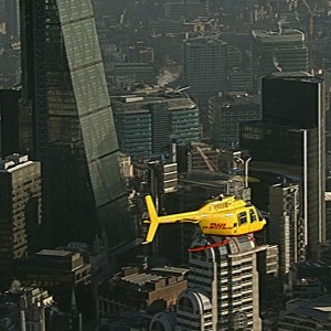 Heli Charter provides JetRanger for new DHL courier service in London