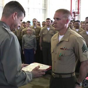 2nd MAW Marines earn Marine, NCO of the Year honors