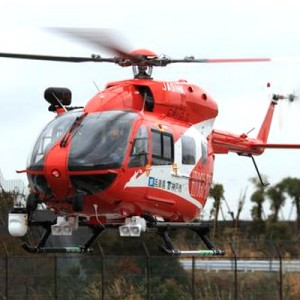 Kobe Fire Dept takes delivery of new EC145
