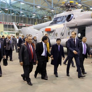 Indonesian delegation visits Kazan plant of Russian Helicopters