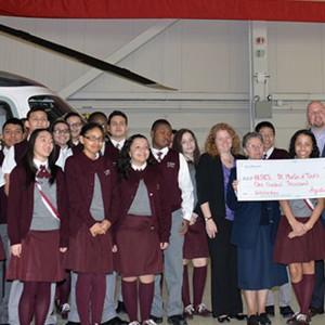 AgustaWestland Announces $100,000 Donation and STEM Partnership