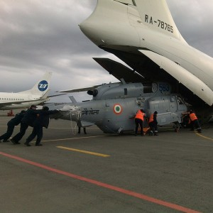 Russian Helicopters delivers first batch of repaired Ka-31s to India