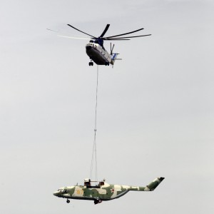 Mi-26T completes 9-day 900-mile load-lifting mission