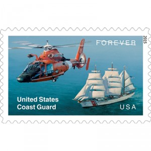USPS issues helicopter stamp to commemorate 225 years of US Coast Guard