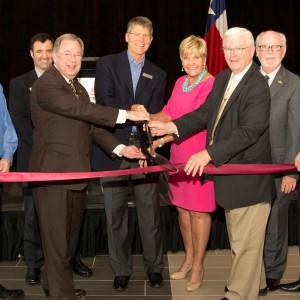 Giant Scissor Alert!  Bell opens new Training Academy