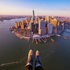Latest helicopter tour gimmick – shoe selfies
