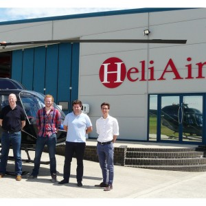 First students complete Heli Air ATPL(H) ground school course at Wycombe Air Park