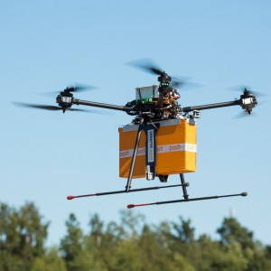 Finnish courier Posti starts testing drone helicopter usage