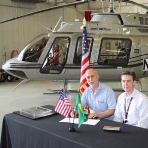 First Bell 407GXP delivery made into Brazil