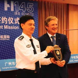 Guangzhou Police becomes first H145 customer in China