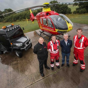 Kubota equipment company supports UK air ambulances