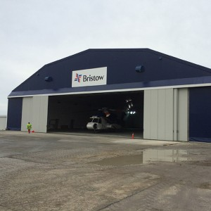 Bristow launches new hangar and offices in Falkland Islands