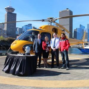 Port Metro Vancouver donates IR camera to North Shore Rescue