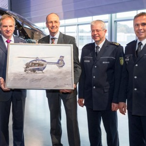 Baden-Wuerttemberg Police receive first law enforcement H145 in the world