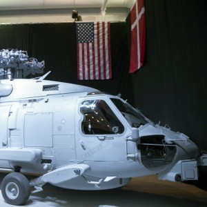 Lockheed Martin Delivers First Danish MH-60R to US Navy