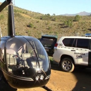 Spanish Police impound three helicopters and pilots on drug smuggling allegations