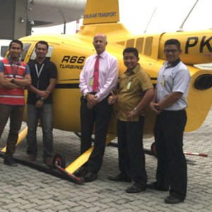 First R66 now flying in Indonesia