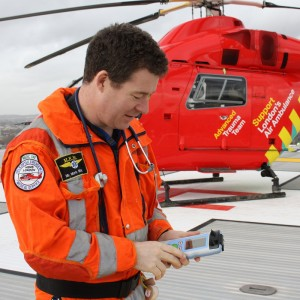 Londons Air Ambulance to trial hand-held brain scanner