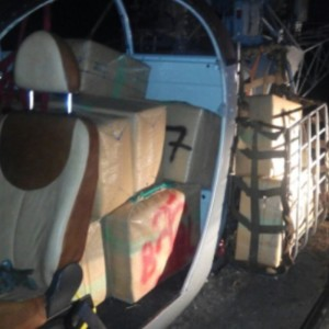 Spanish Police seize two Alouettes, 615kg of drugs and 20 suspects