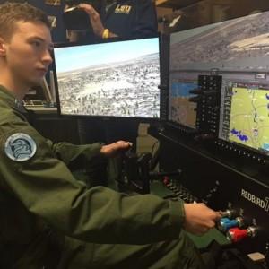 Metro Aviation buys Redbird flight sim for Louisiana school