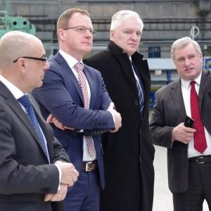 Polish Government ministers visit PZL Świdnik plant