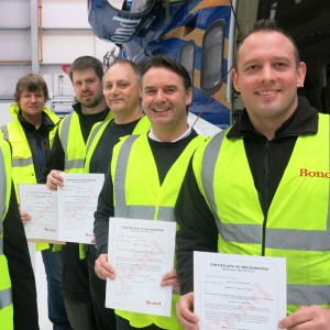 Initial intake graduates Bond S92 engineering course