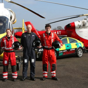 Essex & Herts Air Ambulance go 24×7 – but on four wheels