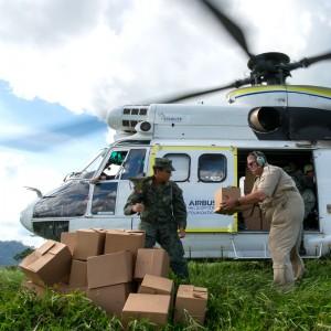 Airbus puts H215 demonstrator into humanitarian relief work