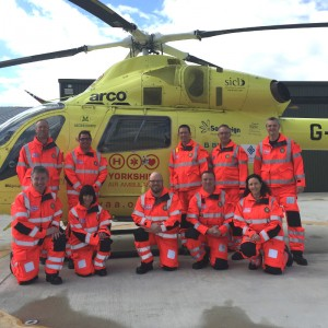 Yorkshire Air Ambulance adds doctors to team