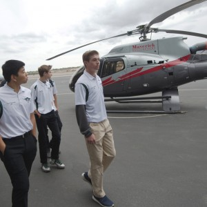 Maverick Aviation Group holds big PR event with local school