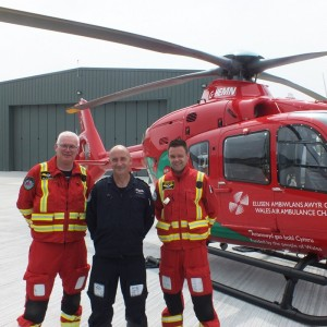 Wales Air Ambulance moves into new HQ