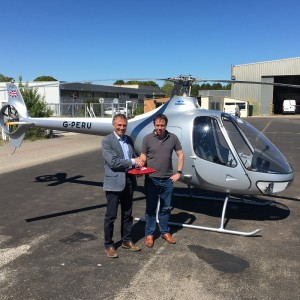 Helicopter Services adds Guimbal Cabri G2 to training fleet