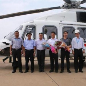 VNH South take delivery of second AW189 on six month lease