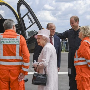 Queen opens East Anglian Air Ambulance base at Cambridge
