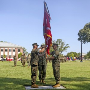New commanding officer at MCAS Cherry Point