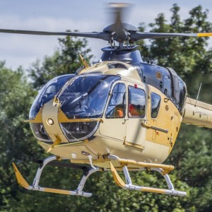 First British H135 military training helicopter takes to the skies