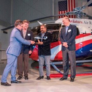 AMGH, Aviators Air Rescue take delivery of first H130