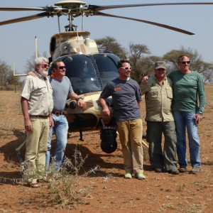 Bell demos the 407GT on anti-rhino poaching work