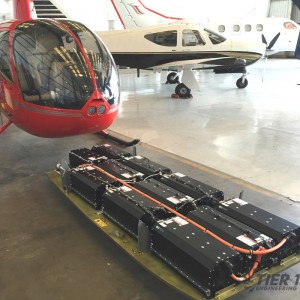 Electric R44 takes flight