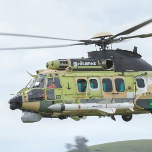 Airbus and Helibras introduce H225M in naval combat version