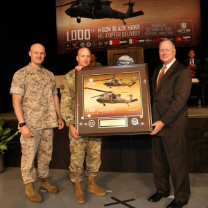DCMA Sikorsky Aircraft delivers 1,000th Black Hawk to Army