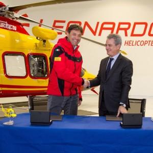 Leonardo and CNSAS partner in mountain rescue R&D