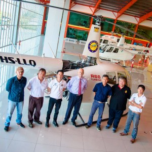 First Robinson R66 arrives in Thailand