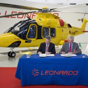 AAROI-EMAC and Leonardo sign agreement on Helicopter Emergency Medical Service