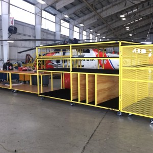 SAFE Structure completes USCG MH-60 hangar equipment contract