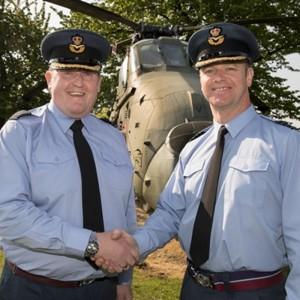 A New Station Commander for RAF Shawbury