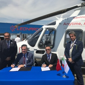 17 more Leonardo helicopters for China