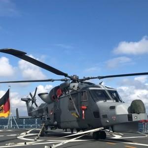 British Wildcats train with German Navy