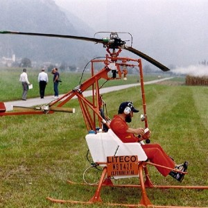 Museum adds two hydrogen peroxide powered helicopters