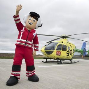 Scotland Charity Air Ambulance launches mascot